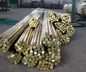 CuSn12 Tin Silicon Bronze Rod , Bronze Bar Stock With Round / Square Shape
