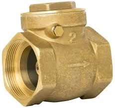 "Professional Brass Core Brass Swing Check Valve CW617 CW602 1/2""-4"" Inch"