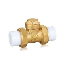 "Lead Free Brass Water Valve , Soldering Brass Ball Valve 1/2"" - 3/4"" Inch"