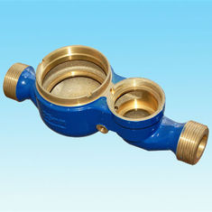 Customized Cold Water Meter Body Blue Color Water Meter Adapter ISO 9001 Certification