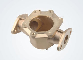 Anti Leak Bronze Water Meter Body , Cold Water Meter Fittings Bronze