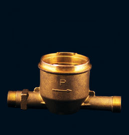 Lead Free Brass Water Meter Velocity Water Meter Body With NSF 61 Certificate