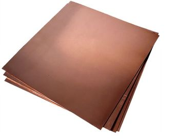 0.2-120mm Solid Copper Sheet Stock T2 C11000 C1100 Cu-ETP With Coil / Foil Shape