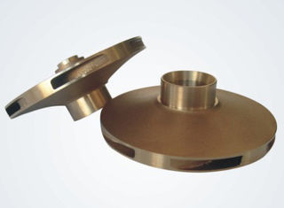 CNC Machining Customized Sand Casting Bronze With Passivation Anodization Surface