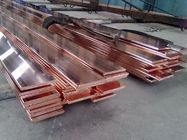 Flat Copper Bus Bar TU1 C10200 C1020 Cu-OF 2-60mm Electric Copper Buss Bar